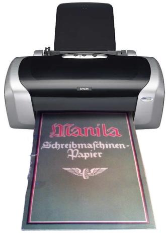 Schreibmaschinenpapier