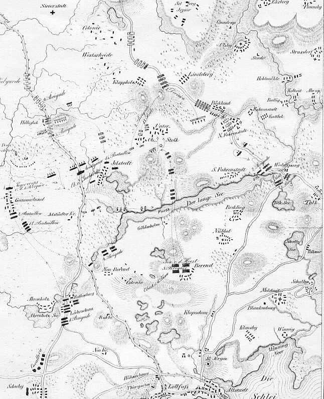 Gezeichnet von Hauptmann v. Wangenheim 1852