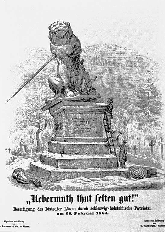 Sturz des Idstedter Löwen