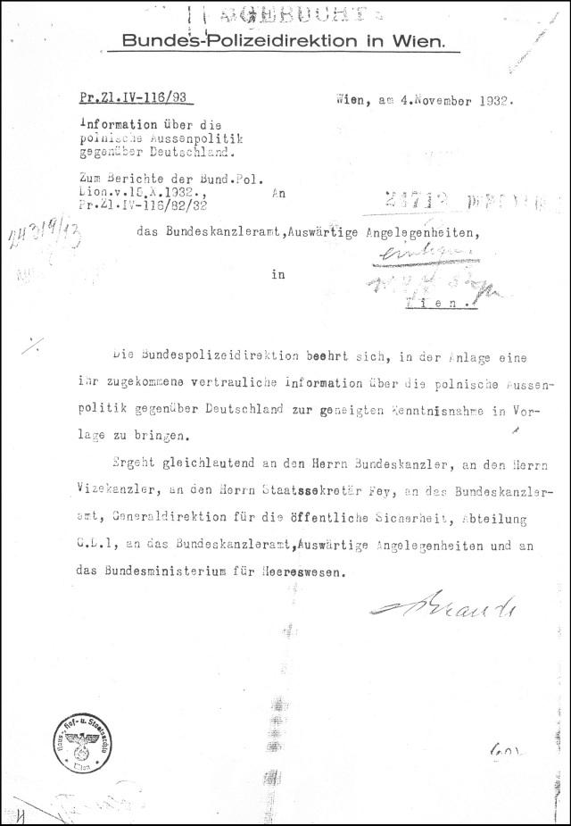 Polnische Kriegshetze 1932 (1)