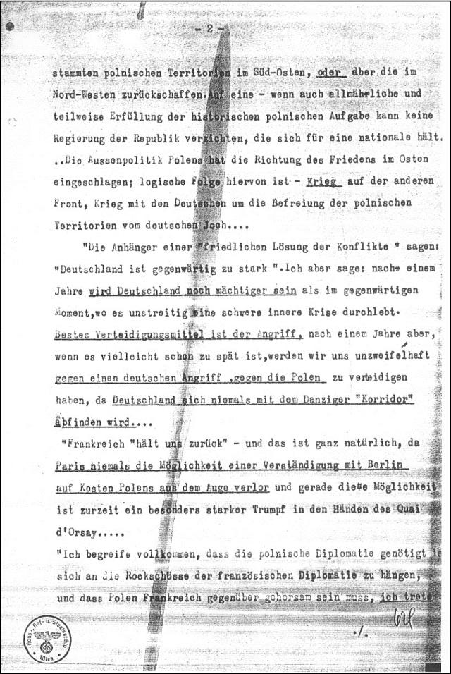 Polnische Kriegshetze 1932 (3)