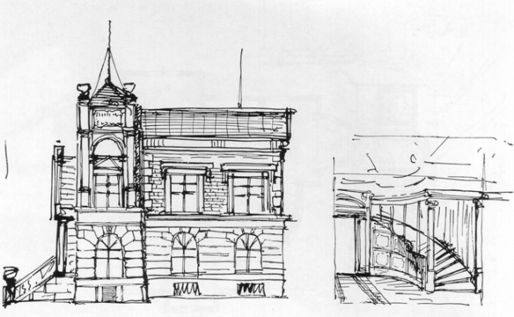 zeichnungen-adolf-hitlers-aufriss-und-entwurf-des-treppenhauses-jener