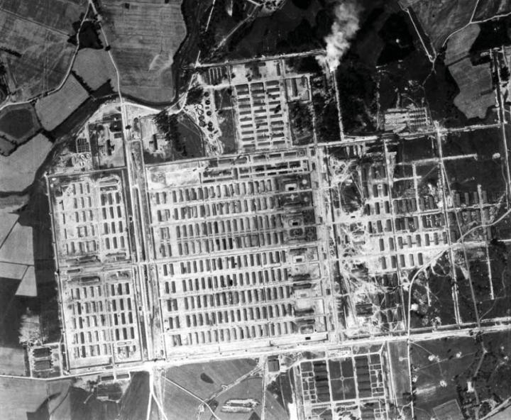 bunker-von-auschwitz-lagerluftaufnahme