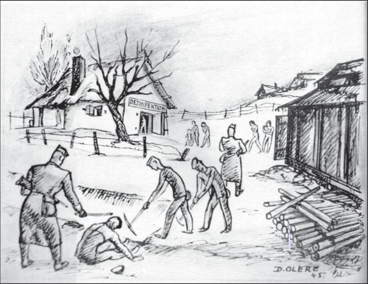 bunker-von-auschwitz-zeichnung